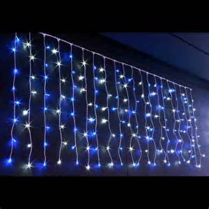 cascade light 160 leds blanc bleu fil blanc 2 x 0 8 m cs led 2x0 8 24v wb achat vente