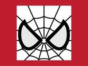 Spider-Man Eyes Template Printable