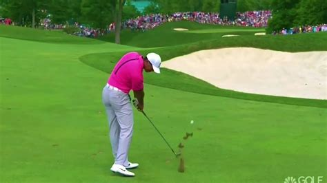 Tiger Woods Fantastic Iron Swing, Super Slow-Motion Swing ...