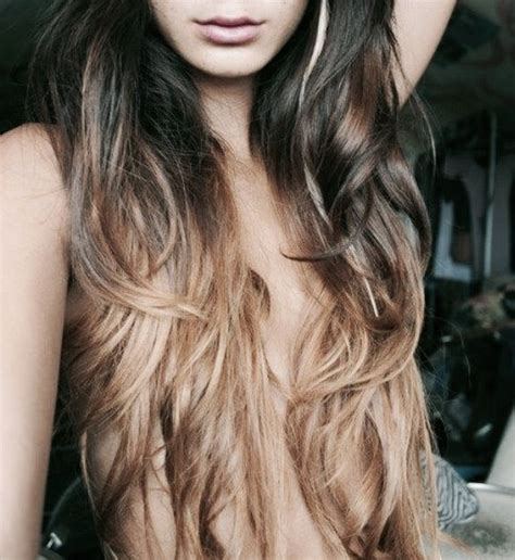 dark brown hair with light brown ombre light brown ombre bing images make up pinterest