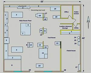 J Project: Carpentry workshop floor plan Learn how