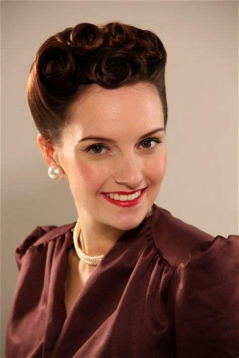 1940s hair and makeup styles 40s hair and makeup www pixshark images galleries 5273
