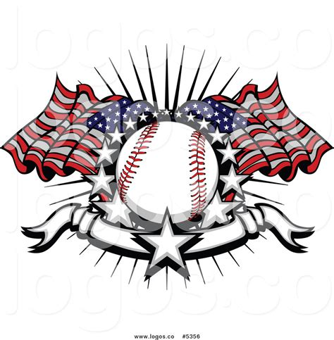 1 million free graphics, 7 million free png cliparts, 2 million free photos shared by our members. Royalty Free Vector of a Logo of a Baseball with American ...