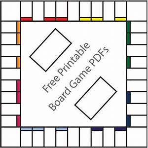 16 free printable board game templates template board With card game template maker