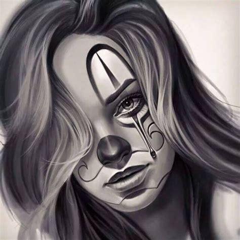 Information About Sad Clown Girl Drawing Yousense Info