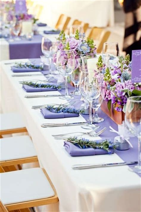 lavender table l the frosted petticoat lavender sprigs table decorations