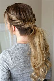 Ponytail Flip Hairstyle