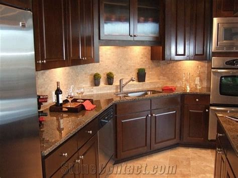 Brown Granite Countertops by 17 Ideas About Brown Granite On Kitchen