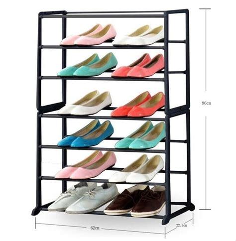 Harga Rak Sepatu Plastik Susun 2 jual rak sepatu 7 susun plastik besi amazing shoe rack