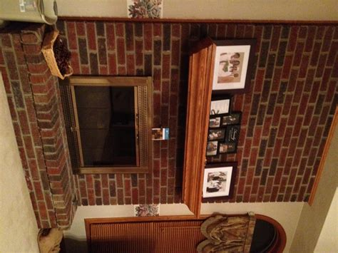 Brick Fireplace Makeover With Brick Fireplace Makeover