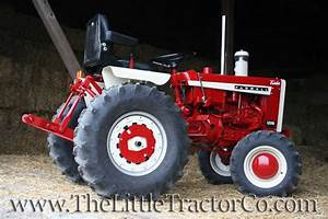 The Little Tractor Co  Ih 1468 And Farmall 1206