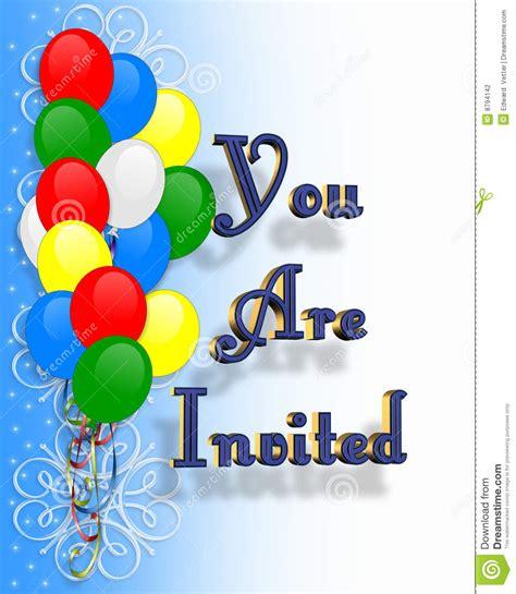 zelf l maken ballon de ballons van de uitnodiging van de partij van de
