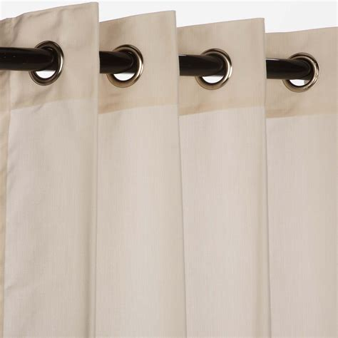spectrum eggshell grommet sunbrella outdoor curtains