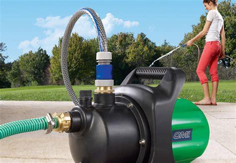 pompe per irrigazione giardino sistemi di irrigazione per giardini obi attrezzatura