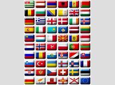Flags of Europe stock illustration Illustration of