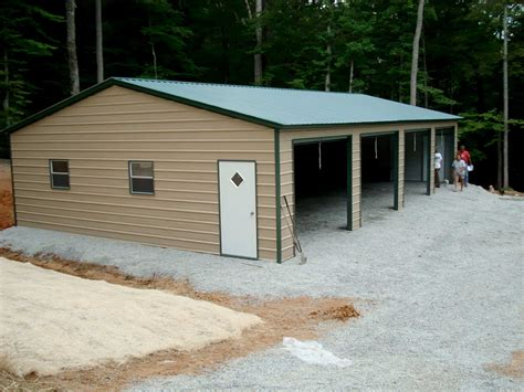 Garage Buildings by Steel Building Kits And Metal Buildings By Steel Building