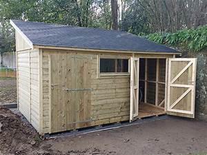 Abri Jardin Sur Mesure : abris de jardin sur mesure environnement bois ~ Melissatoandfro.com Idées de Décoration