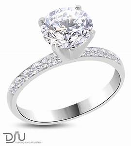 2 26 ct e si2 round diamond solitaire engagement ring 14k With 2 ct wedding rings