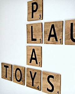 large scrabble tiles 6 inch wood scrabble tile decor With decorative letter tiles