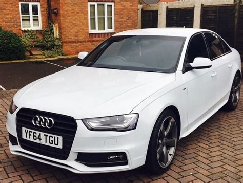 audi a4 2 0 tdi black edition s tronic quattro 4dr auto white 2015 in walsall west midlands