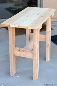 Build A Small Patio Table Brokeasshome com