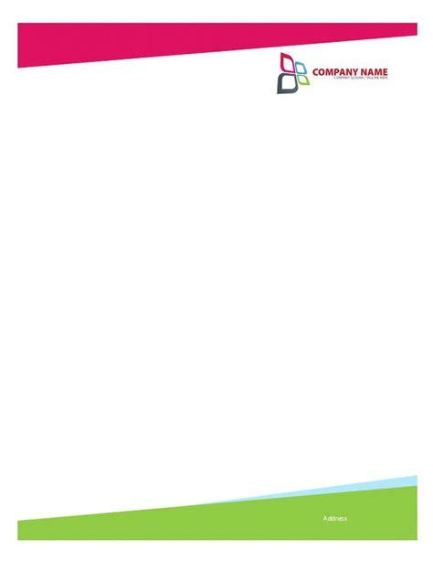 letterhead template 46 free letterhead templates exles free template downloads
