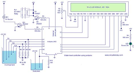 water level controller  arduino water level