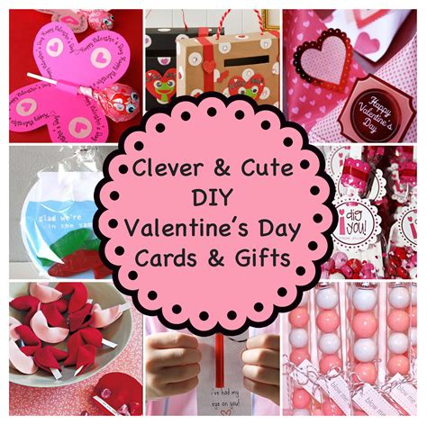 See the blogger's link for supplies and tutorial. Clever and Cute DIY Valentine's Day Cards & Gifts