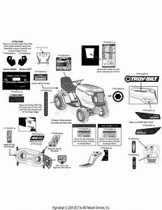 Troy Bilt 13av78ks011 Bronco  2014  Parts Diagram For