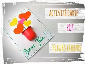 Activité Fete Des Peres : f te des m res activit manuelle carte pot de fleurs ~ Melissatoandfro.com Idées de Décoration