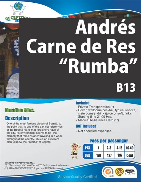 B13 Andres Carne De Res English