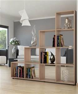 étagère Séparation De Pièce : meuble tag re s parateur de pi ce ch ne ciel et terre ~ Premium-room.com Idées de Décoration
