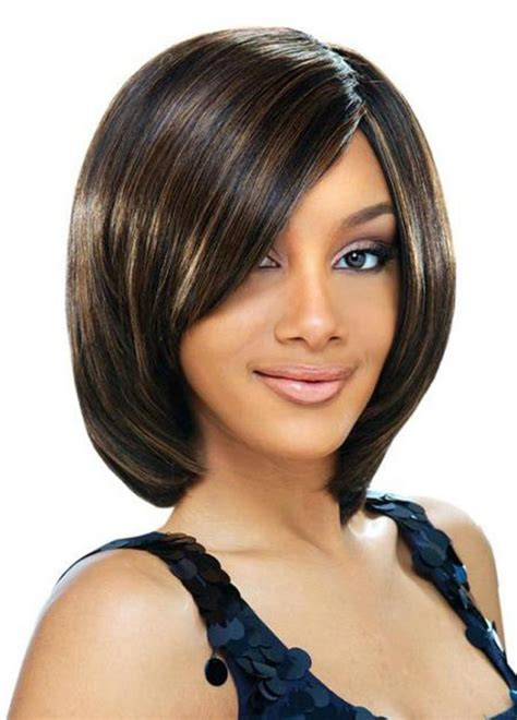pictures  cute short bob hairstyles  black women