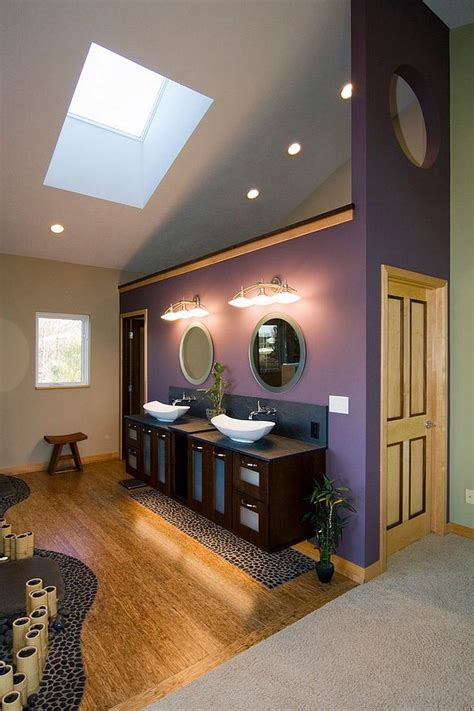 Bathroom Design In Purple Tones And Shades by Bathroom Design In Purple Tones And Shades Bathroom