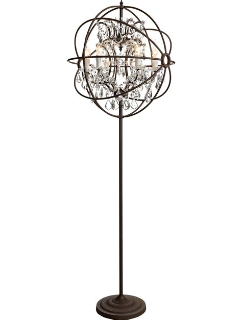 standing chandelier floor l shanti designs lights and