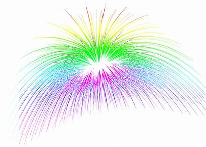 Celebration Transparent Fireworks Stars Animated Clip Clipart