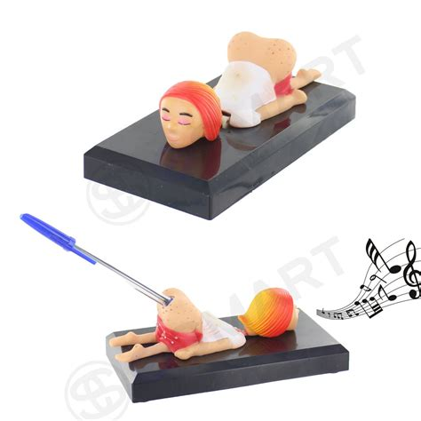 office and desk supplies novelty funny pen holder sound creative fun gift
