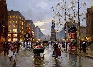 Peinture De Paris Poissy : reproduction tableaux peinture paris 15 tableau tableaux ~ Premium-room.com Idées de Décoration