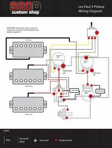 Les Paul 3 Pickup Wiring Diagram