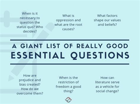 examples  essential questions essential