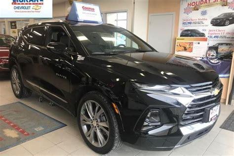 New Chevrolet Blazer Premier Black For