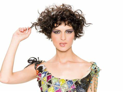 Funky hairstyles and unconventional hair color