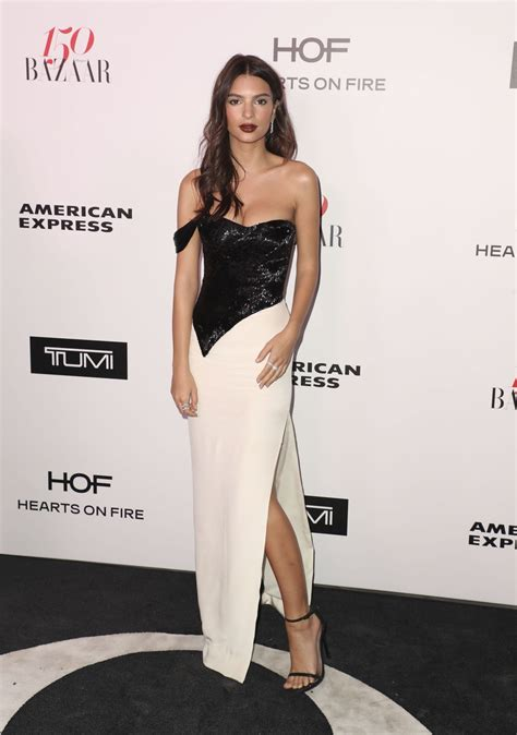 Emily Ratajkowski – Harper's Bazaar 150 Most Fashionable ...