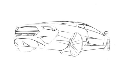 Easy Car Drawing Tutorial For Children