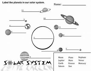 Collection of Solar System Worksheets 3rd Grade ...