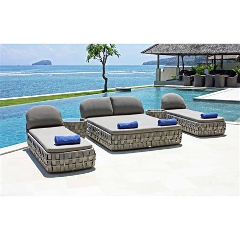 chaise longue bain de soleil bain de soleil strips mobilier haut de gamme sky line design