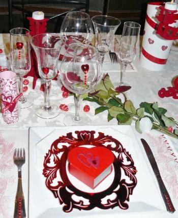 id 233 e d 233 coration de table valentin