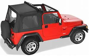 Pavement Ends Flip Top Soft Top For Jeep   Sunroof And