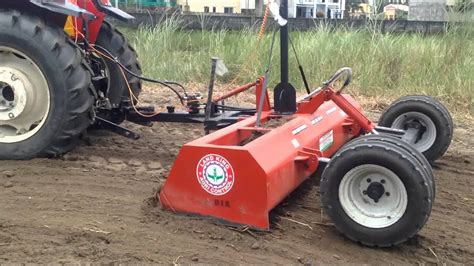 landking laser land leveler  feet  philippines youtube