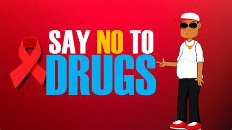 drugs cartoons  kids red ribbon week